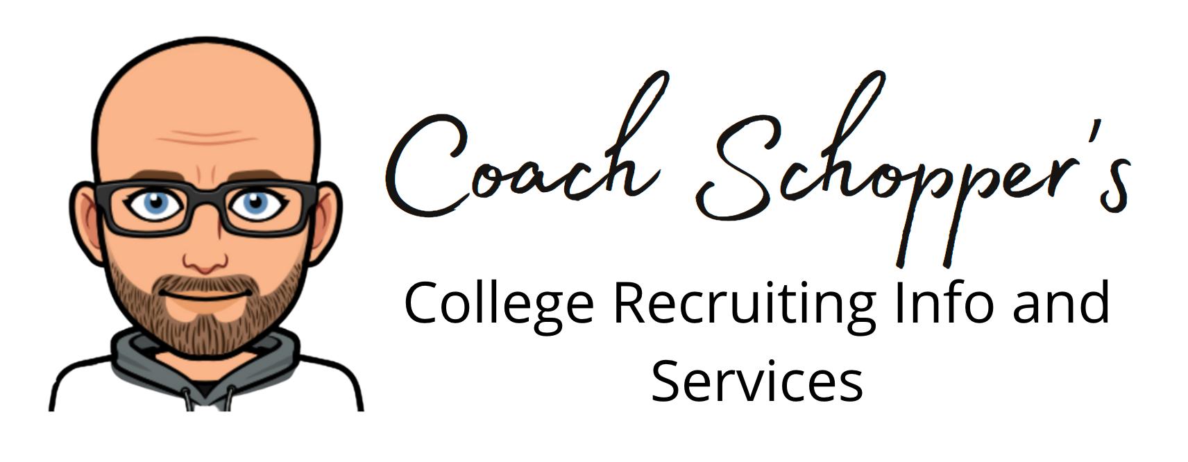 Coach Schopper's Guide to Getting Recruited